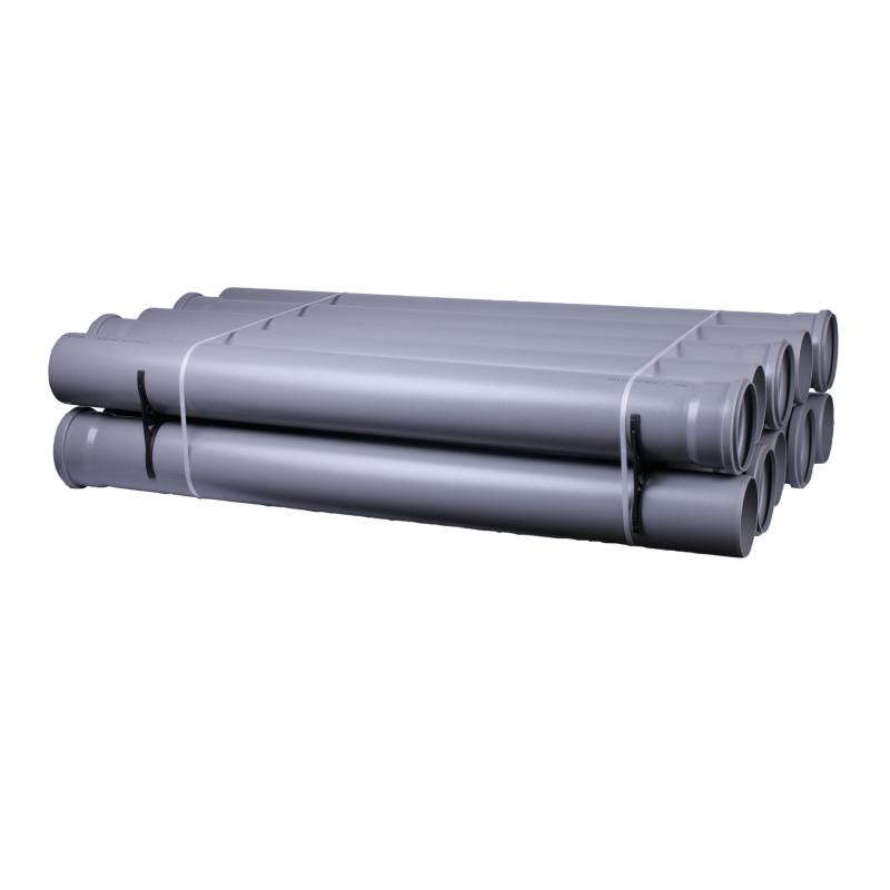 труба ПП 110х2.7 (0,250м) 1рез Интерпласт