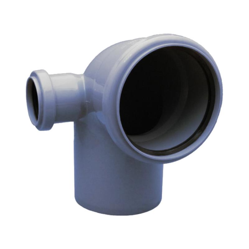 Колено с отводом TA Sewage 50х110х110, 90°