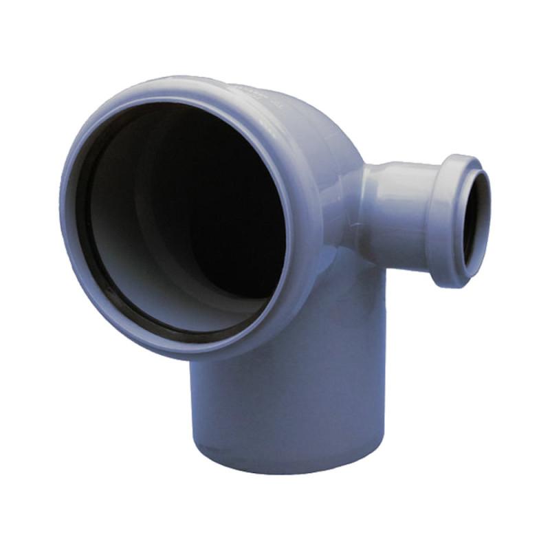 Колено с отводом TA Sewage 110х110х50, 90°