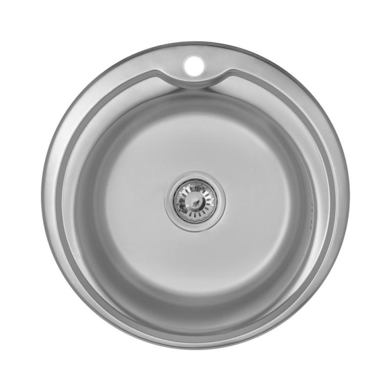 Кухонная мойка Imperial 510-D Satin (IMP510D06SAT)