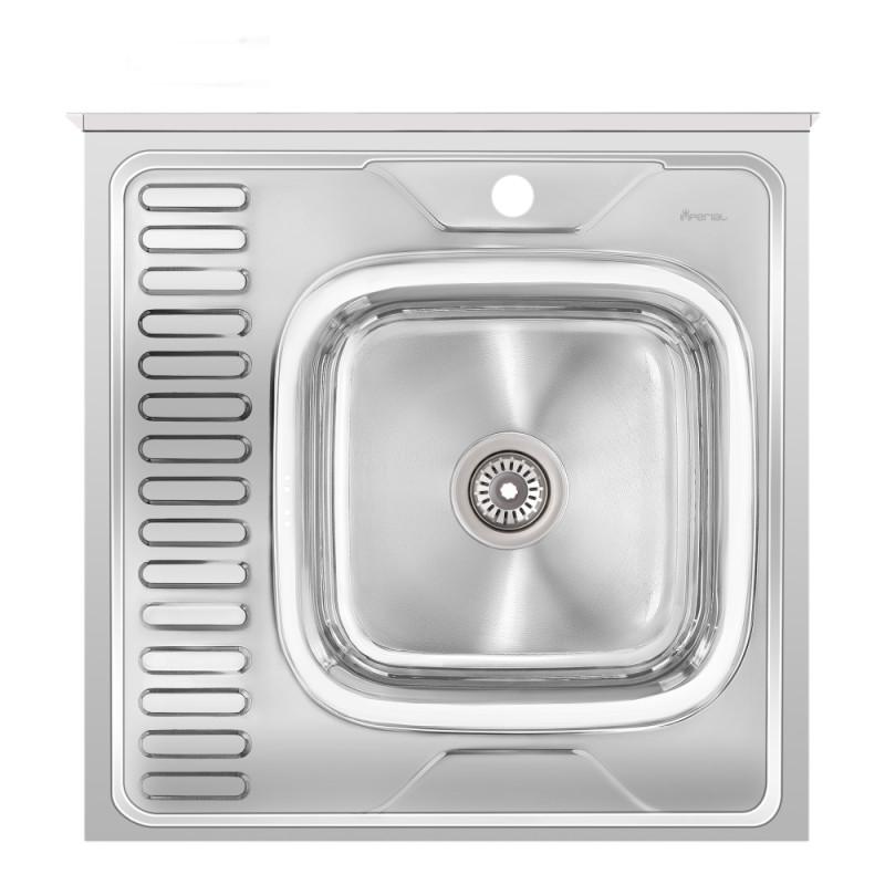 Кухонная мойка Imperial 6060-R Polish (IMP6060R06POL)