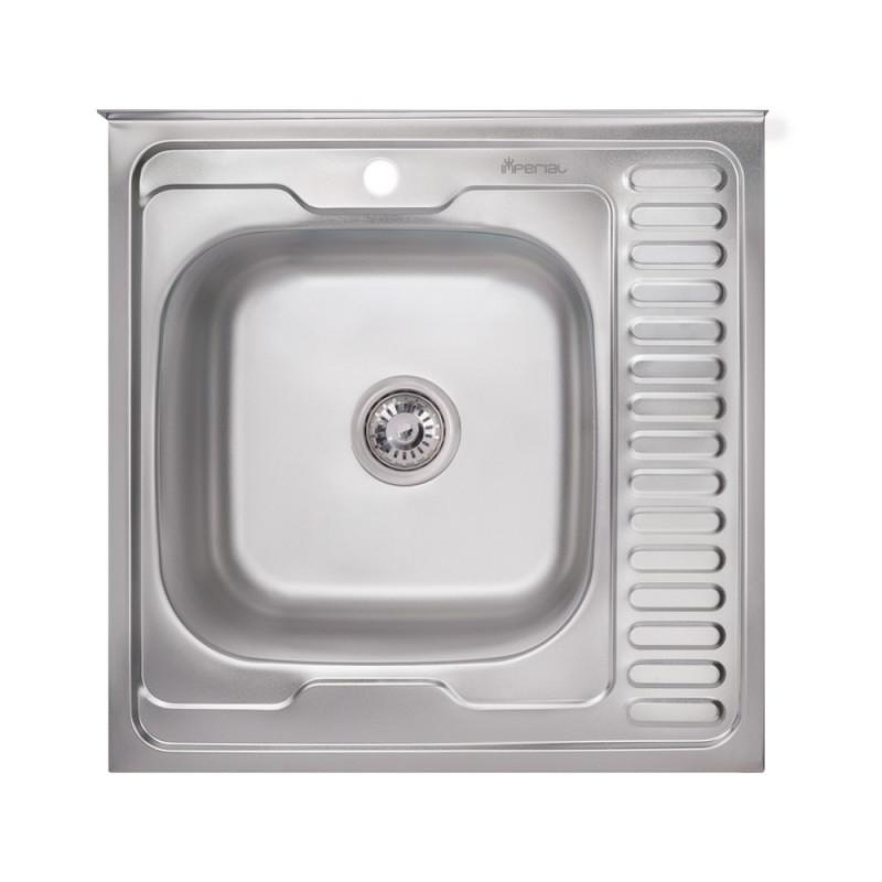 Кухонная мойка Imperial 6060-L Decor (IMP6060L06DEC)
